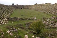 Αρχαίες καταστροφές Aphrodisias, αιγαία Τουρκία Στοκ Φωτογραφίες