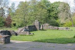 Αρχαίες καταστροφές Eglinton Irvine Σκωτία στοκ εικόνα με δικαίωμα ελεύθερης χρήσης