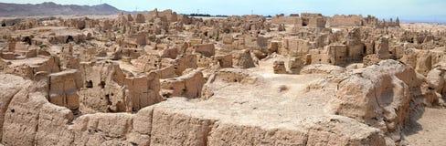 Αρχαίες καταστροφές Jiaohe σε Turpan στη αυτόνομη περιοχή Xinjiang Uighur της Κίνας Στοκ φωτογραφίες με δικαίωμα ελεύθερης χρήσης