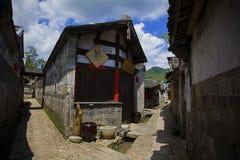 Αρχαίες κατοικίες σε δυτικό Fujian Στοκ Φωτογραφίες