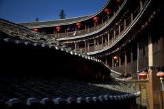 Αρχαίες κινεζικές κατοικίες Στοκ Εικόνες