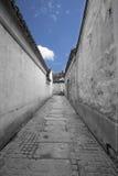 Αρχαίες κινεζικές πόλεις, δρόμοι Στοκ φωτογραφία με δικαίωμα ελεύθερης χρήσης