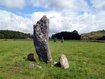 αρχαίες μόνιμες πέτρες Στοκ εικόνες με δικαίωμα ελεύθερης χρήσης