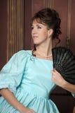 αρχαίες νεολαίες γυναικών φορεμάτων Στοκ Εικόνες