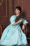αρχαίες νεολαίες γυναικών φορεμάτων Στοκ εικόνα με δικαίωμα ελεύθερης χρήσης