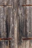 Αρχαίες ξύλινες πόρτες Στοκ Εικόνα