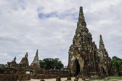 Αρχαίες παγόδα & καταστροφές σε Ayutthaya, Ταϊλάνδη Στοκ Εικόνες