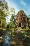 Αρχαίες προ καταστροφές ναών Angkor Sambor Prei Kuk Καμπότζη Στοκ φωτογραφίες με δικαίωμα ελεύθερης χρήσης
