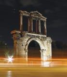 Αρχαίες πύλες, Αθήνα, Ελλάδα Στοκ εικόνα με δικαίωμα ελεύθερης χρήσης