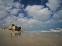 Αρχαίες ρωμαϊκές καταστροφές στη βόρεια Αφρική, Τυνησία Στοκ φωτογραφία με δικαίωμα ελεύθερης χρήσης