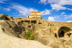 Αρχαίες σπηλιές Uplistsikhe στη Γεωργία : στοκ φωτογραφίες με δικαίωμα ελεύθερης χρήσης