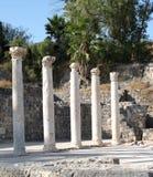 αρχαίες στήλες Ρωμαίος Στοκ Φωτογραφίες