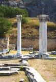 αρχαίες στήλες στοκ εικόνες