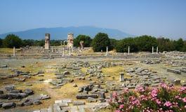 αρχαίες στήλες στοκ φωτογραφίες με δικαίωμα ελεύθερης χρήσης