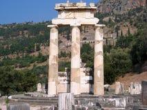 αρχαίες στήλες στοκ εικόνα με δικαίωμα ελεύθερης χρήσης