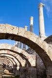 Αρχαίες στήλες και αψίδες Smyrna, Τουρκία Στοκ φωτογραφία με δικαίωμα ελεύθερης χρήσης