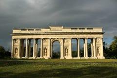 Αρχαίες στήλες της Ρώμης Στοκ Φωτογραφίες