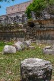 Αρχαίες των Μάγια καταστροφές σε Chichen Itza, Μεξικό Στοκ εικόνα με δικαίωμα ελεύθερης χρήσης