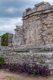 Αρχαίες των Μάγια καταστροφές σε Tulum, Quintana Roo Στοκ φωτογραφία με δικαίωμα ελεύθερης χρήσης