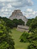 αρχαίες mayan καταστροφές Στοκ εικόνα με δικαίωμα ελεύθερης χρήσης