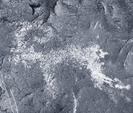 αρχαίοι βράχοι σχεδίων altai Στοκ Εικόνες