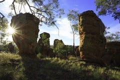 Αρχαίοι βράχοι 2 Στοκ Εικόνες