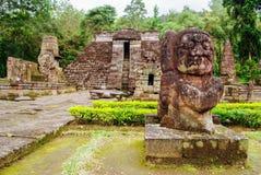 Αρχαίοι ινδοί ναοί σε Jawa Στοκ Εικόνες