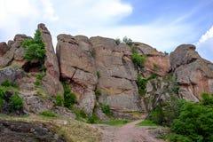 Αρχαίοι και παλαιοί βράχοι Στοκ Εικόνες