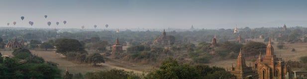 Αρχαίοι ναοί σε Bagan, το Μιανμάρ Στοκ Φωτογραφία