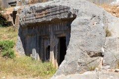 αρχαίοι τάφοι Στοκ Φωτογραφία