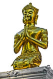 αρχαίοι χρυσοί βόρειοι ναοί Ταϊλανδός του Βούδα στοκ φωτογραφία με δικαίωμα ελεύθερης χρήσης