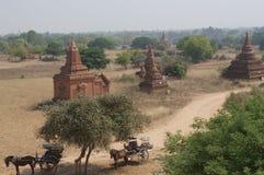 αρχαίοι bagan ναοί της Myanmar Στοκ Εικόνες