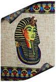 αρχαίος αιγυπτιακός ρόλ&omic Στοκ φωτογραφία με δικαίωμα ελεύθερης χρήσης