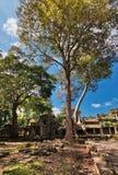Αρχαίος βουδιστικός khmer ναός σε Angkor Wat σύνθετο Στοκ φωτογραφίες με δικαίωμα ελεύθερης χρήσης
