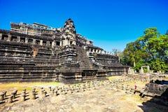 Αρχαίος βουδιστικός khmer ναός Στοκ φωτογραφία με δικαίωμα ελεύθερης χρήσης