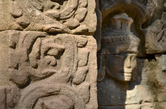 Αρχαίος βουδιστικός khmer ναός σε Angkor Wat, Καμπότζη. SOM Prasat TA Στοκ Φωτογραφία