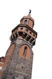 αρχαίος γερμανικός πύργο&s Στοκ Εικόνα