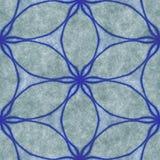 Αρχαίος γεωμετρικός μωσαϊκών Απεικόνιση τέχνης Mandala abstract kaleidoscope Στοκ φωτογραφία με δικαίωμα ελεύθερης χρήσης