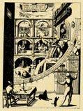 αρχαίος επιστήμονας Στοκ εικόνες με δικαίωμα ελεύθερης χρήσης