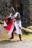 Αρχαίος ιππότης Στοκ εικόνα με δικαίωμα ελεύθερης χρήσης
