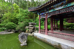 αρχαίος κινεζικός κήπος Στοκ φωτογραφίες με δικαίωμα ελεύθερης χρήσης