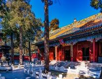 αρχαίος κινεζικός ναός τη& Στοκ εικόνες με δικαίωμα ελεύθερης χρήσης