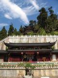 αρχαίος κινεζικός ναός Στοκ Φωτογραφίες