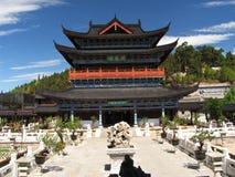 αρχαίος κινεζικός ναός Στοκ Εικόνες