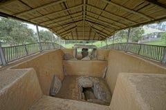 Αρχαίος κολομβιανός τάφος Στοκ φωτογραφία με δικαίωμα ελεύθερης χρήσης