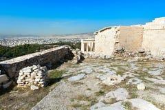 Αρχαίος ναός Αθηνάς Nike στην ακρόπολη, Αθήνα Στοκ εικόνες με δικαίωμα ελεύθερης χρήσης