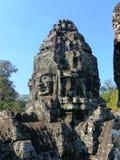 Αρχαίος ναός σε Angkor Wat/την Καμπότζη Στοκ Εικόνες