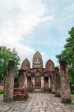 Αρχαίος ναός σε Sukhothai, Ταϊλάνδη στοκ εικόνες