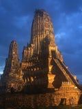 Αρχαίος ναός στο ayutthaya Στοκ Εικόνα