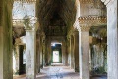 Αρχαίος ναός σύνθετο Angkor Wat Στοκ φωτογραφία με δικαίωμα ελεύθερης χρήσης